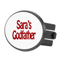 Sara's Godfather Oval Hitch Cover