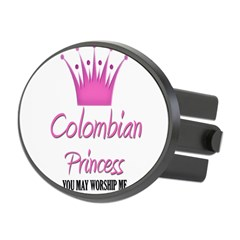 Colombian Princess Oval Hitch Cover