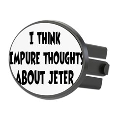 Jeter (impure thoughts} Oval Hitch Cover