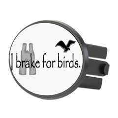 birding Oval Hitch Cover
