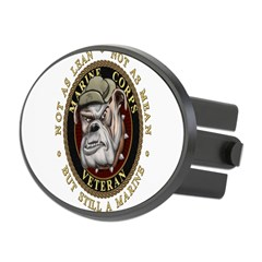 Devil Dog Vet Oval Hitch Cover