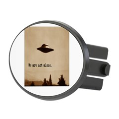 X-Files - We Are Not Alone Oval Hitch Cover