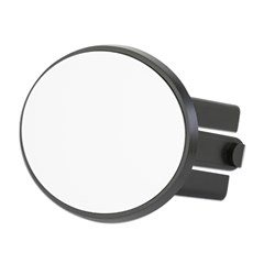 Drummer Oval Hitch Cover
