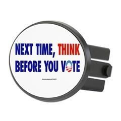 """Think 2012"" Oval Hitch Cover"