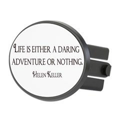 Helen Keller Oval Hitch Cover