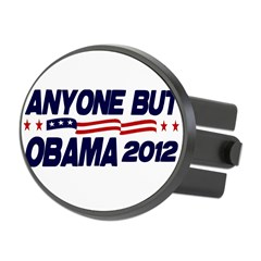 Anyone But Obama Oval Hitch Cover