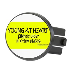 Young At Heart. Slightly older in other place Oval Hitch Cover