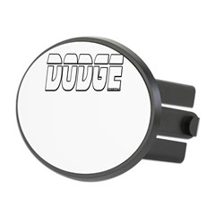 Dodge Oval Hitch Cover