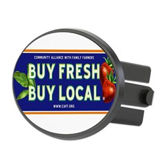 Buy Fresh Buy Local classic Oval Hitch Cover