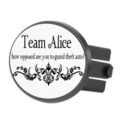 Team Alice Theft Oval Hitch Cover