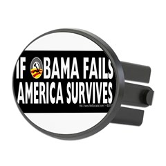 Anti-Obama Obama Fails America Survives Oval Hitch Cover