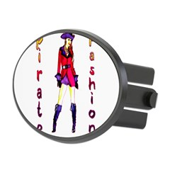 Pirate Fashion Oval Hitch Cover