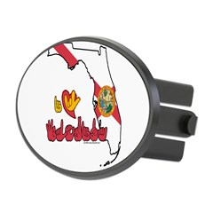 ILY Florida Oval Hitch Cover