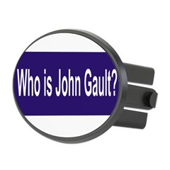 Who is John Gault? Oval Hitch Cover