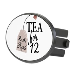 Vote Tea Party 2012 Oval Hitch Cover