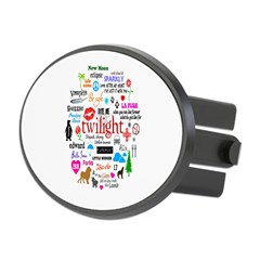 Twilight Memories Oval Hitch Cover