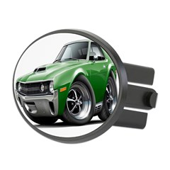 1970 AMX Green Car Oval Hitch Cover