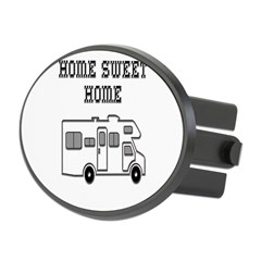 Home Sweet Home Mini Motorhome Oval Hitch Cover