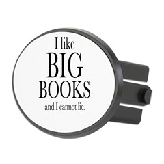 I LIke Big Books Oval Hitch Cover