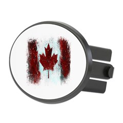 Canadian Graffiti Oval Hitch Cover