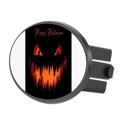 Happy Halloween Pumpkin Oval Hitch Cover