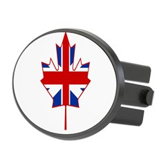 UK Maple Oval Hitch Cover