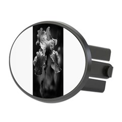 Irises Oval Hitch Cover