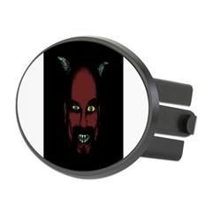 Devil Oval Hitch Cover