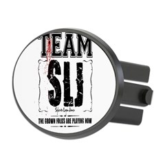 Team SLJ Oval Hitch Cover