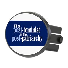 POST-FEMINIST Oval Hitch Cover