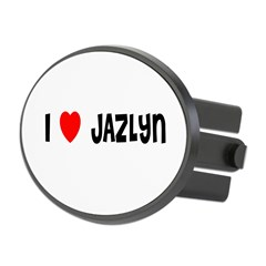 I LOVE JAZLYN Oval Hitch Cover