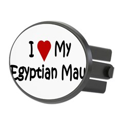 Egyptian Mau Oval Hitch Cover