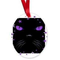 Boo - Amethyst Oval Ornament