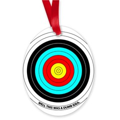 Archery Lover Oval Ornament