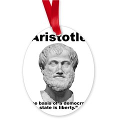 Aristotle Liberty Oval Ornament