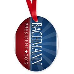 Bachmann - Ray of Hope Design Oval Ornament