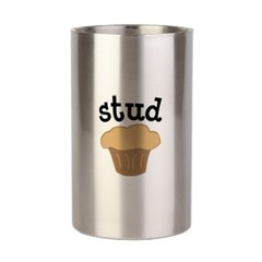 Stud Muffin Funny Valentines Day Gift Bottle Wine Chiller