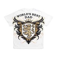 World's Best Dad Men's All Over Print T-Shirt