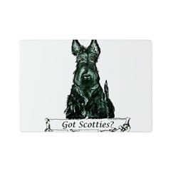 got scotties trans 10x10.png Glass Cutting Board