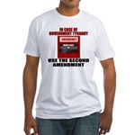 In case of EMERGENCY Fitted T-Shirt