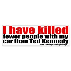 Ted Kennedy Bumper Sticker