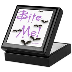 "JustVampires.com ""Bite Me!"" Keepsake Box"