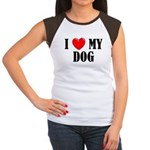 Love My Dog Women's Cap Sleeve T-Shirt