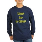 Large And In Charge Long Sleeve Dark T-Shirt