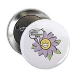 "Happy Mother's Day Purple Flower 2.25"" Button (10"