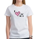 I Love Heart My Mom Mother's Day Women's T-Shirt