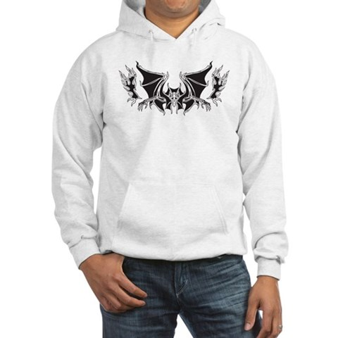 Vampire Tattoo Hooded Sweatshirt