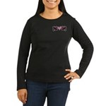 Tattoo Mom Pink Heart Mother's Women's Long Sleeve