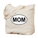 Mom European Oval Mother's Day Tote Bag