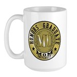 Mom University Honors Graduate Large Mug